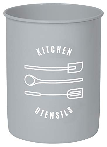 Now Designs Utensil Crock, Light Grey