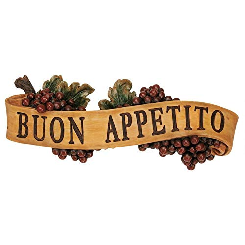 Buon Appetito Wall Plaque