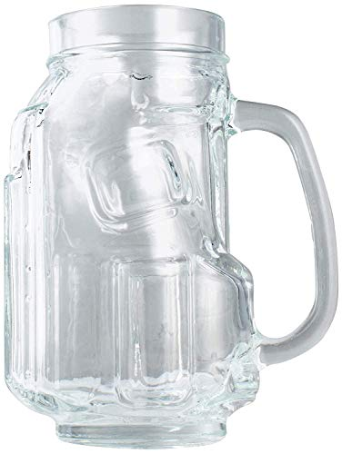 iThoughtful Golf Bag Shaped Glass Beer Mug with Handle, Great for Golfers (16 oz)