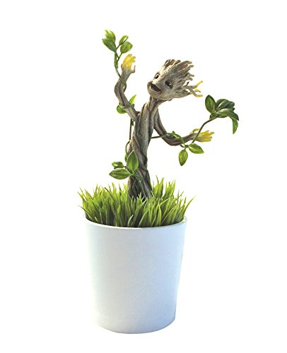 Uncle Milton Marvel Guardians of the Galaxy Grow and Glow Groot  Baby Groot Flower Pot
