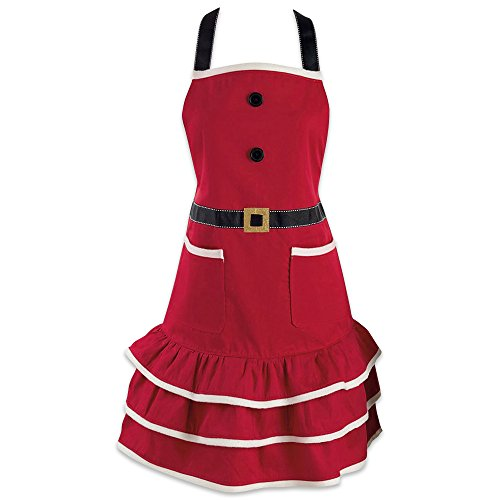 DII Holiday Kitchen Apron, One Size, Mrs. Claus